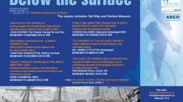 poster promocional below the surface acas